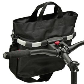KlickFix Reisenthel - Panier de vélo - Oval S noir
